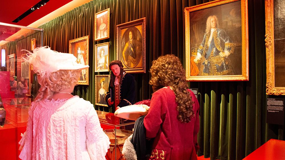 Leibniz im Schlossmuseum Hannover 1
